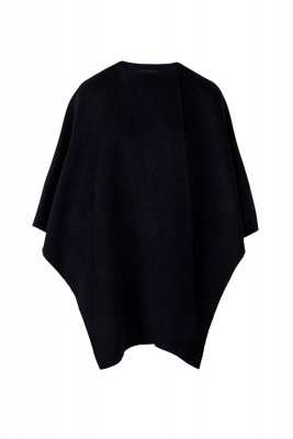 Capa din lana uni Massimo Dutti