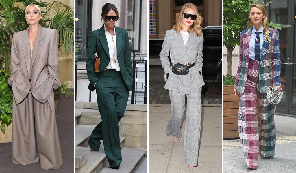 Power Suit: inspira-te de la celebritati si de la vedetele de street style