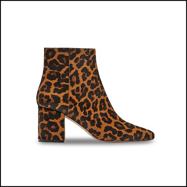 Botine animal print Zara