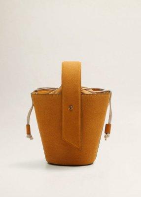 Geanta sac din piele mango 199,90 Lei