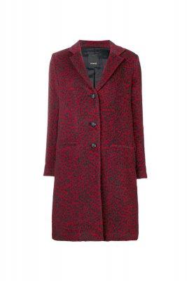 Palton leopard print Pinko 1.700, 00 Lei