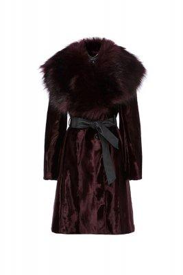 Palton cu guler maxi Karen Millen