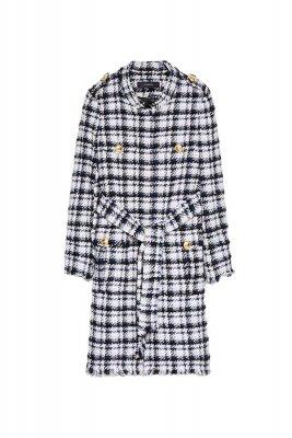 Palton din tweed Uterque, 1.190,00 Lei