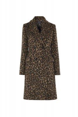 Palton scurt leopard print Karen Millen 2.169,00 Lei