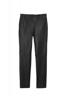 pantaloni de piele H&M