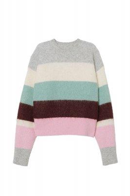 Pulover din mestec de lana H&M