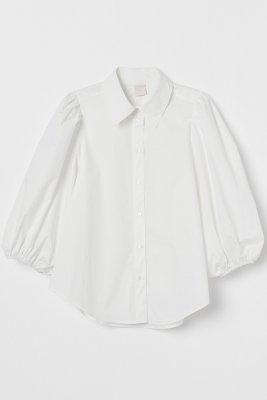H&M Bluza cu maneci bufante 139,99 Lei
